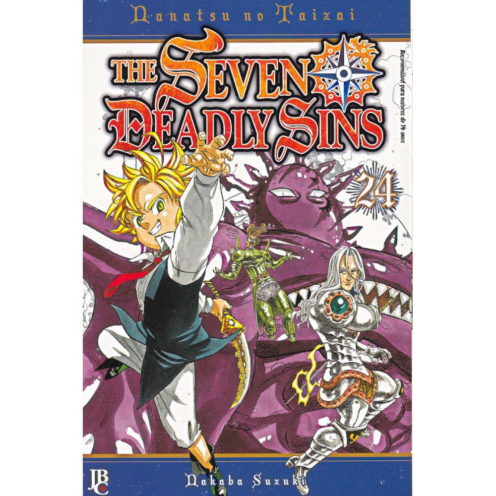 The Seven Deadly Sins / Nanatsu no Taizai - Volume 24