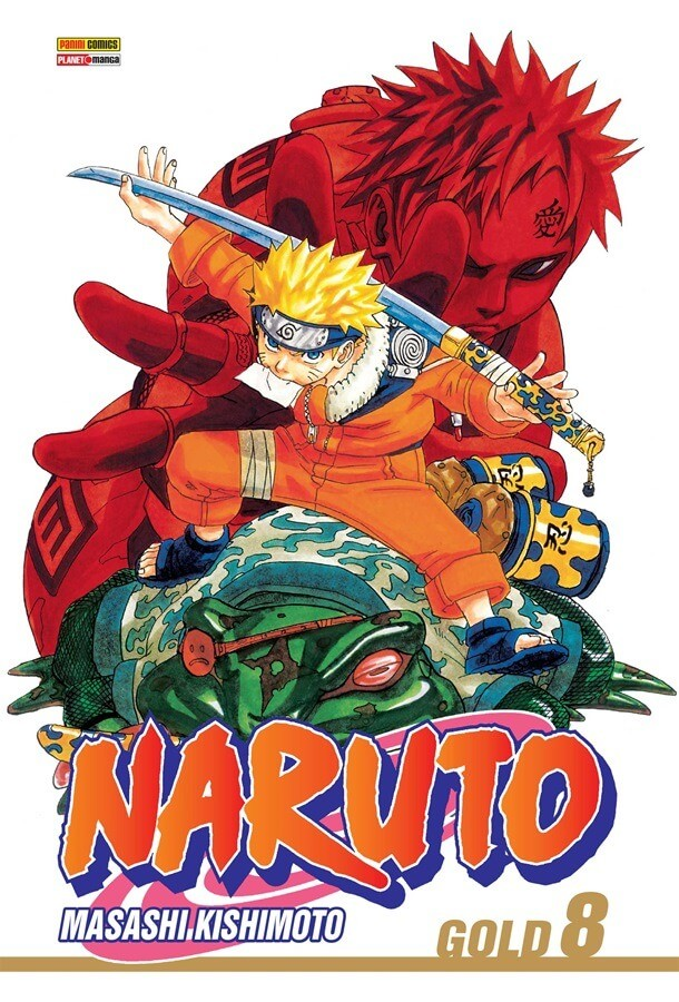 Naruto Gold - Volume 08