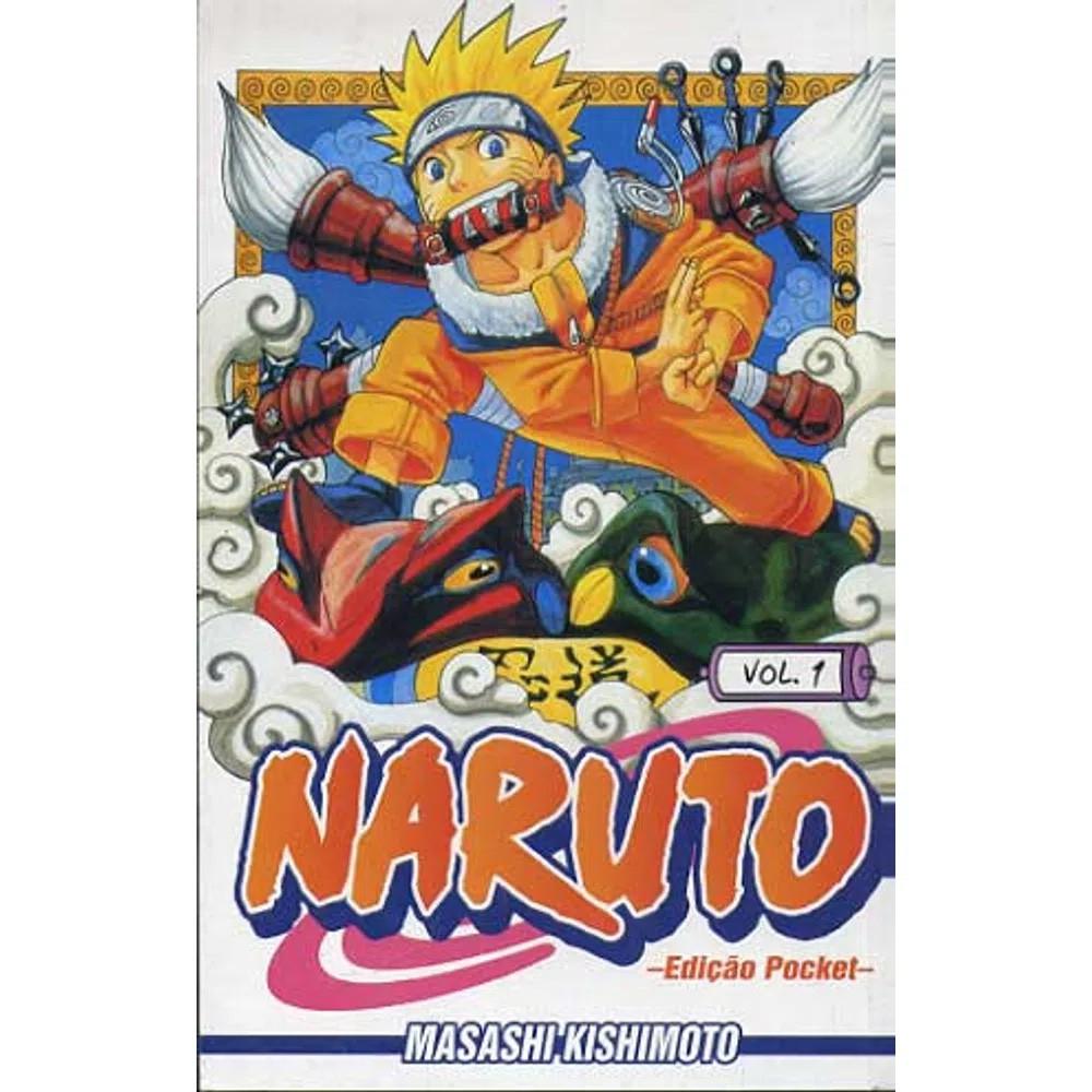 Naruto Pocket - Volume 01 - Usado