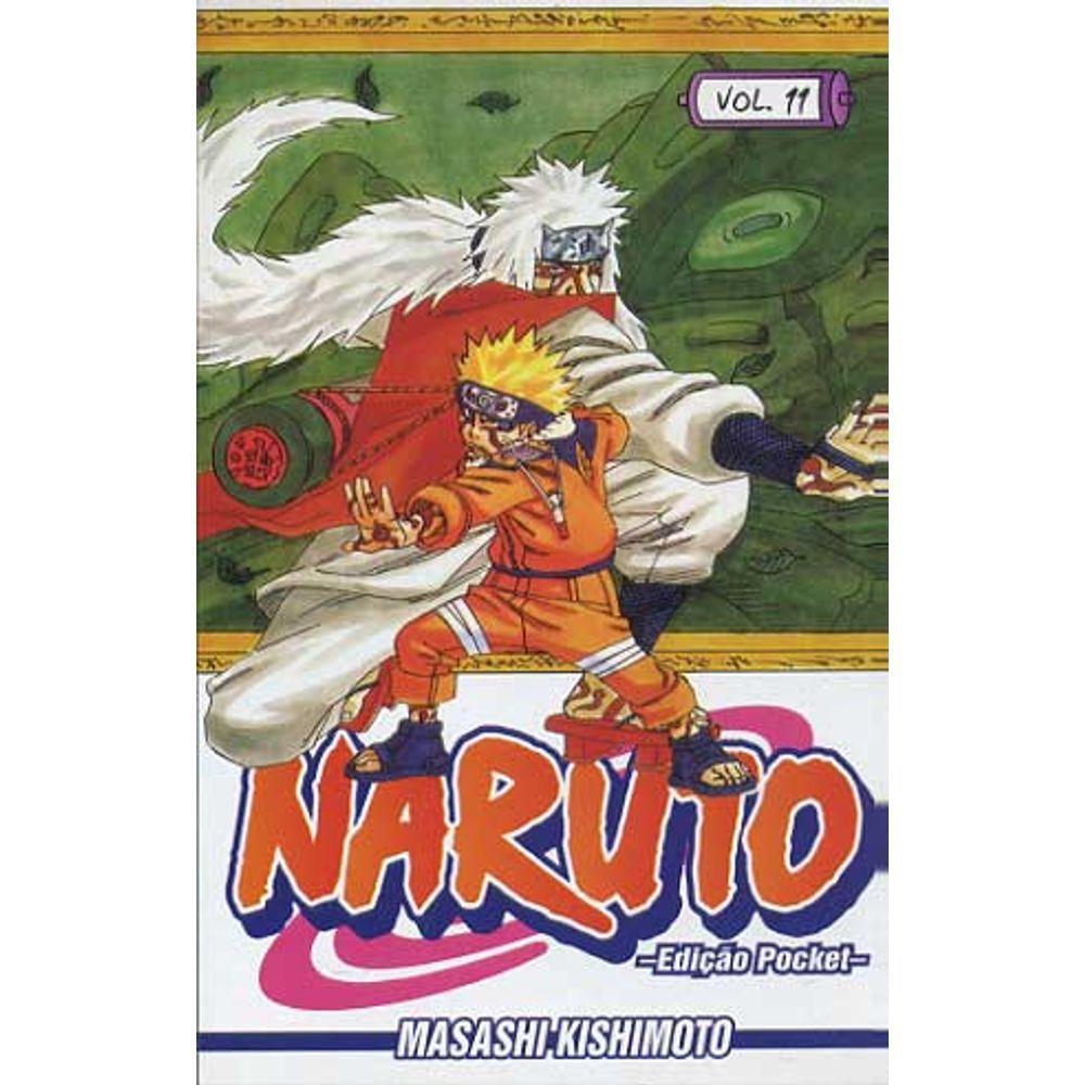 Naruto Pocket - Volume 11 - Usado