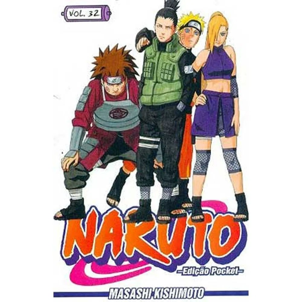 Naruto Pocket - Volume 32 - Usado