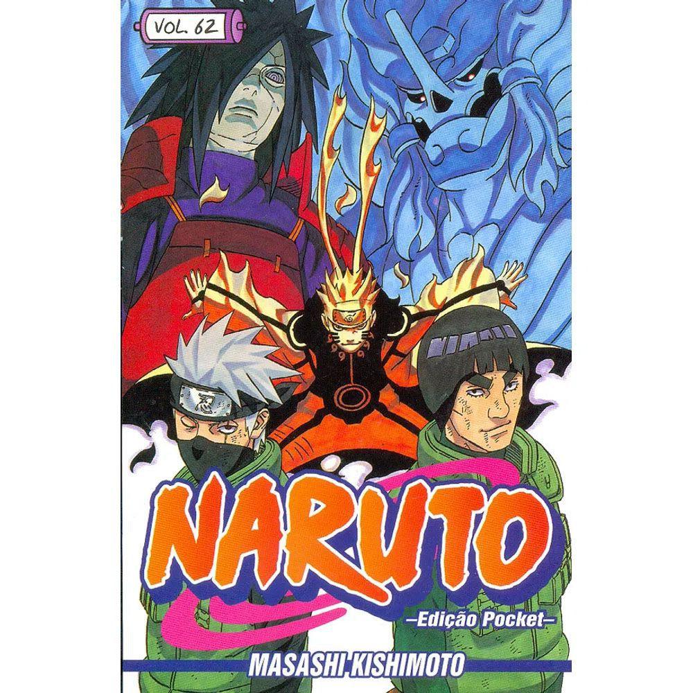 Naruto Pocket - Volume 62 - Usado