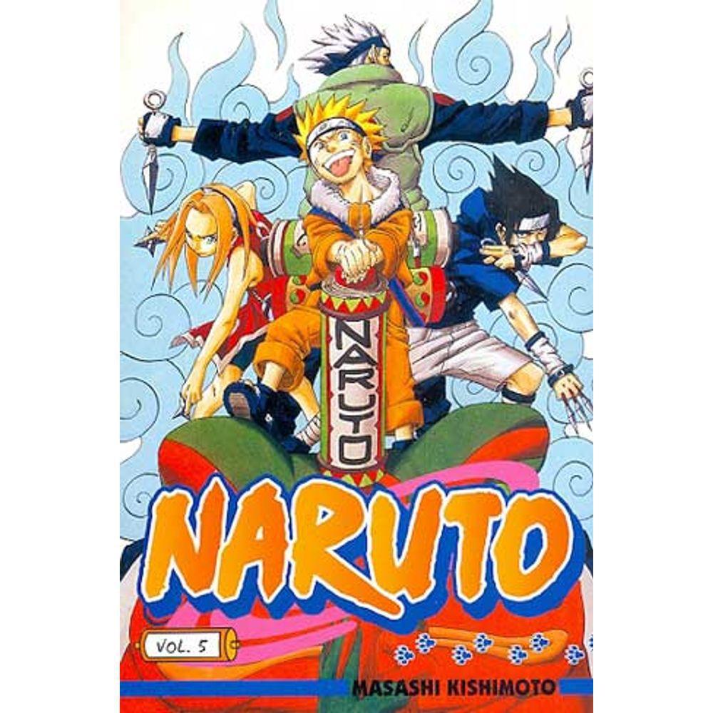 Naruto - Volume 05 - Usado