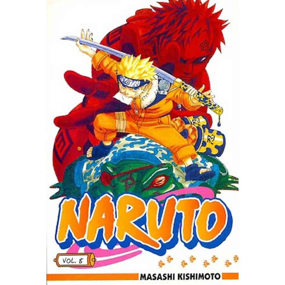 Naruto - Volume 08 - Usado