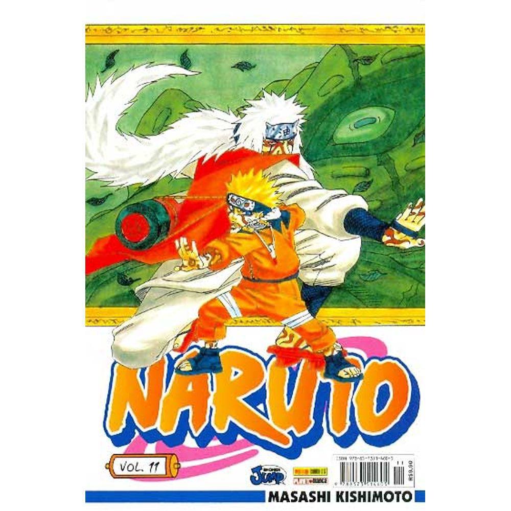 Naruto - Volume 11 - Usado