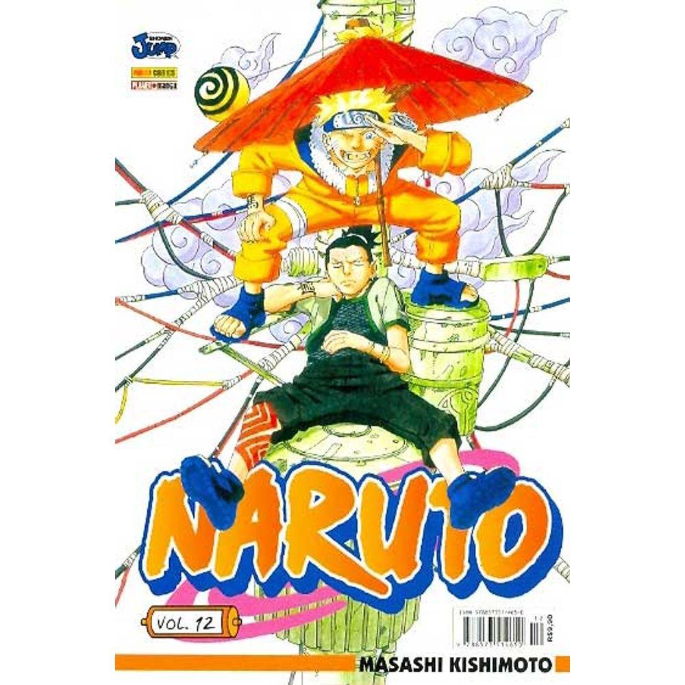 Naruto - Volume 12 - Usado