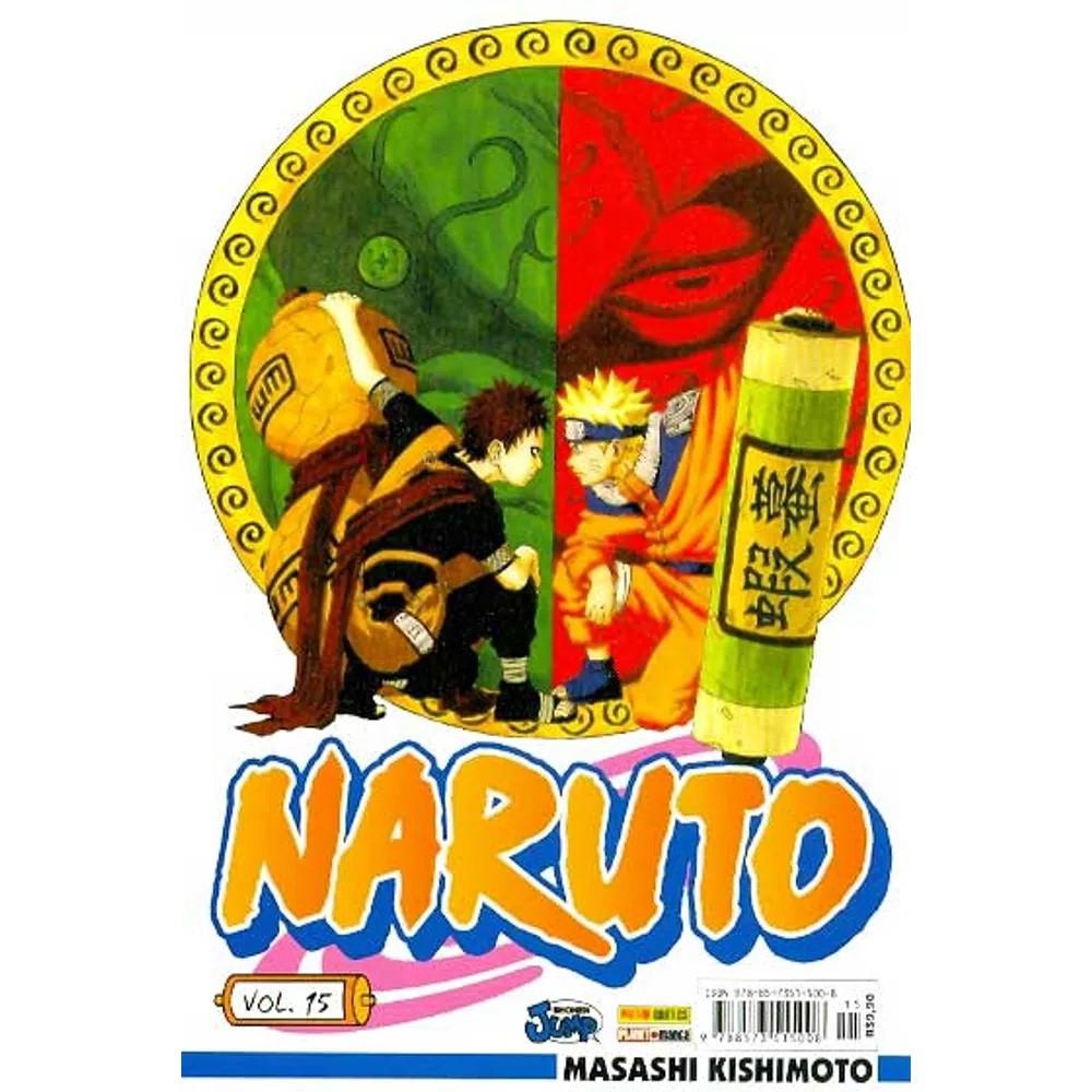 Naruto - Volume 15 - Usado