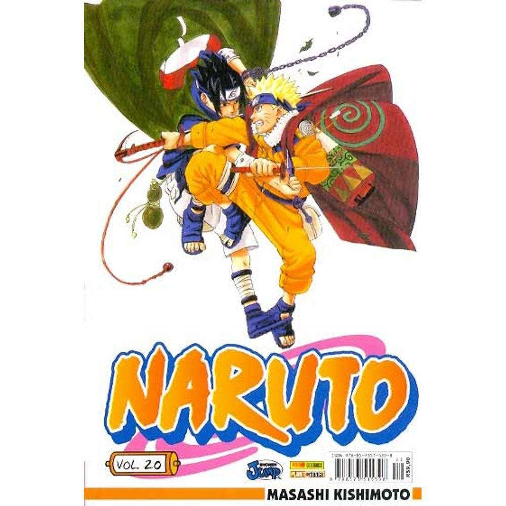 Naruto - Volume 20 - Usado