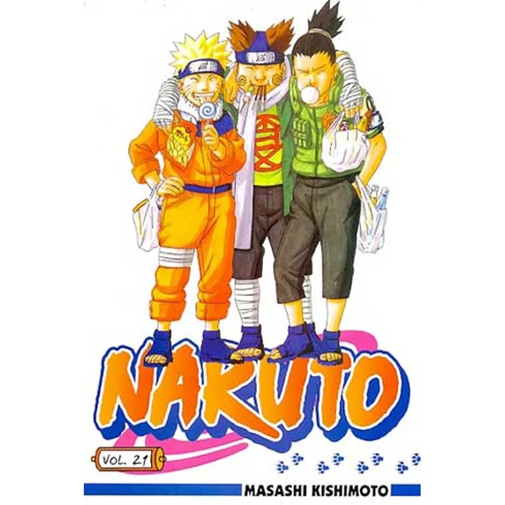 Naruto - Volume 21- Usado
