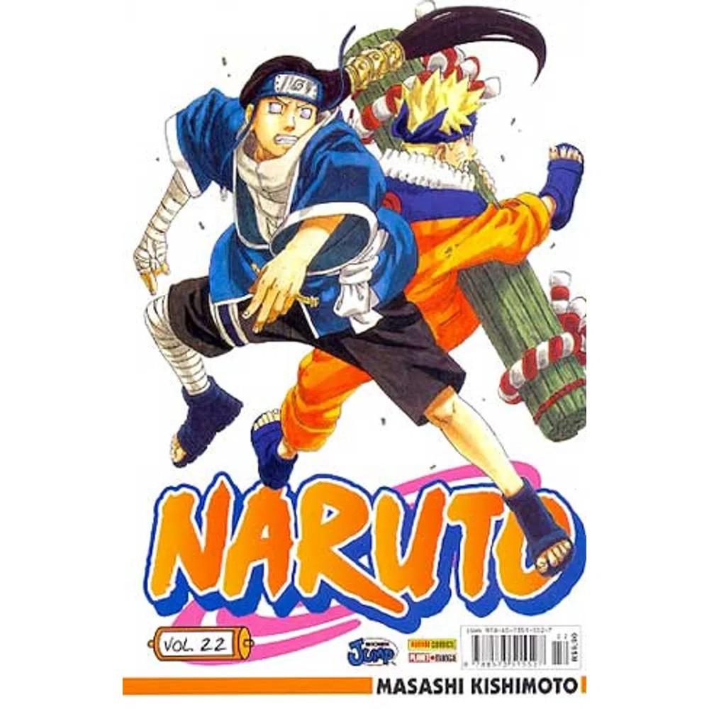 Naruto - Volume 22 - Usado