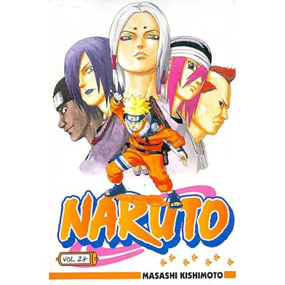 Naruto - Volume 24 - Usado