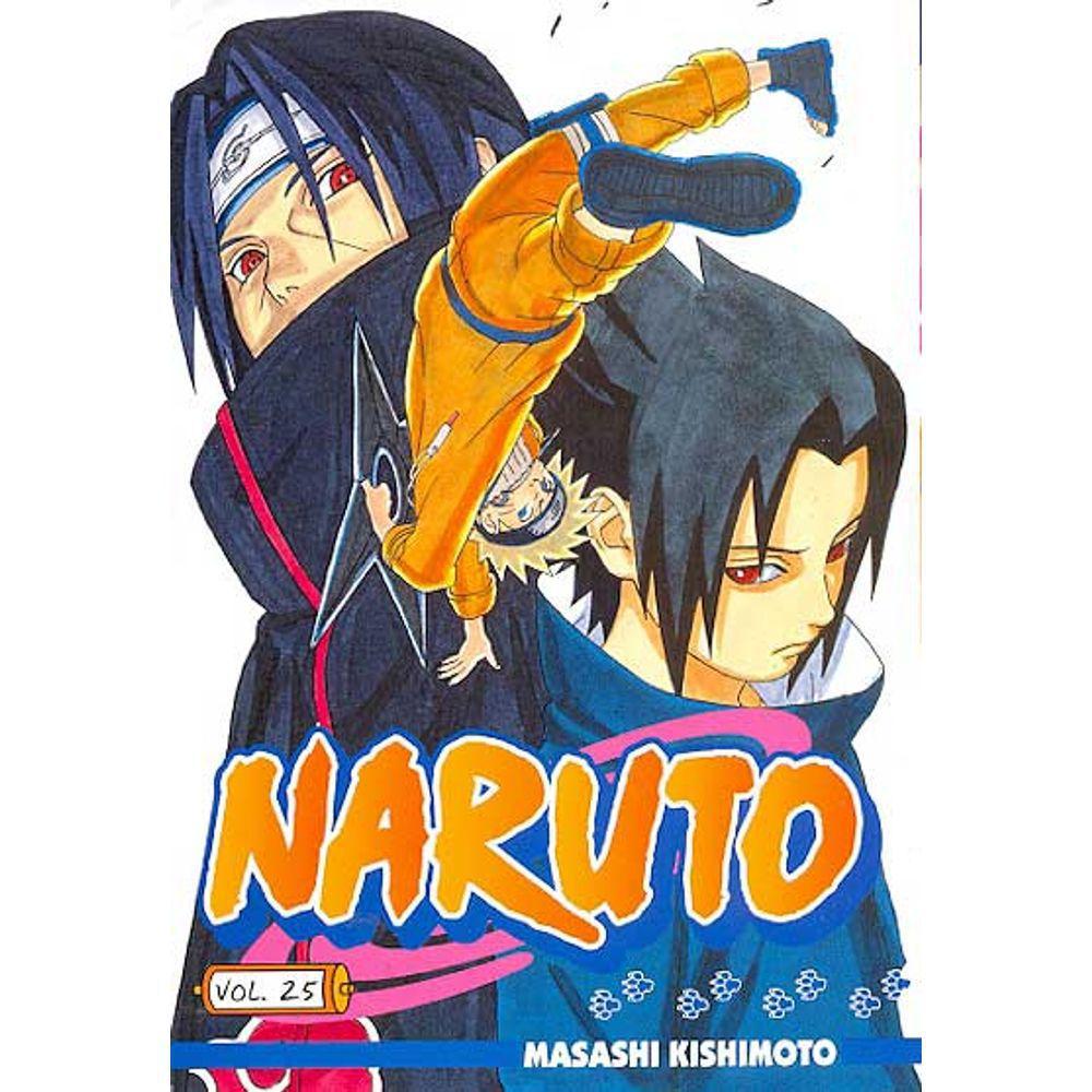 Naruto - Volume 25 - Usado