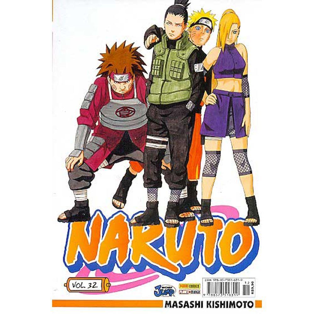 Naruto - Volume 32 - Usado