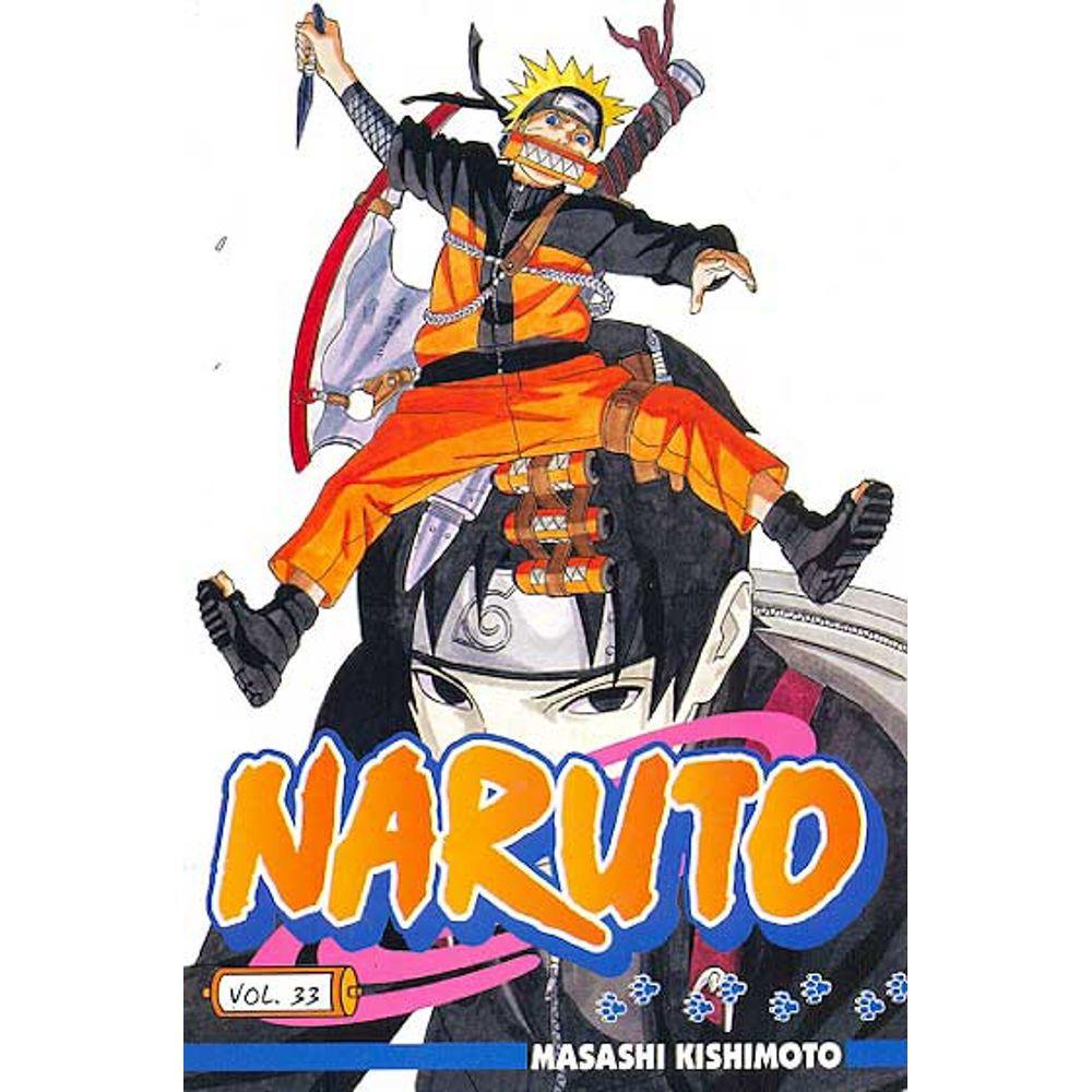 Naruto - Volume 33 - Usado