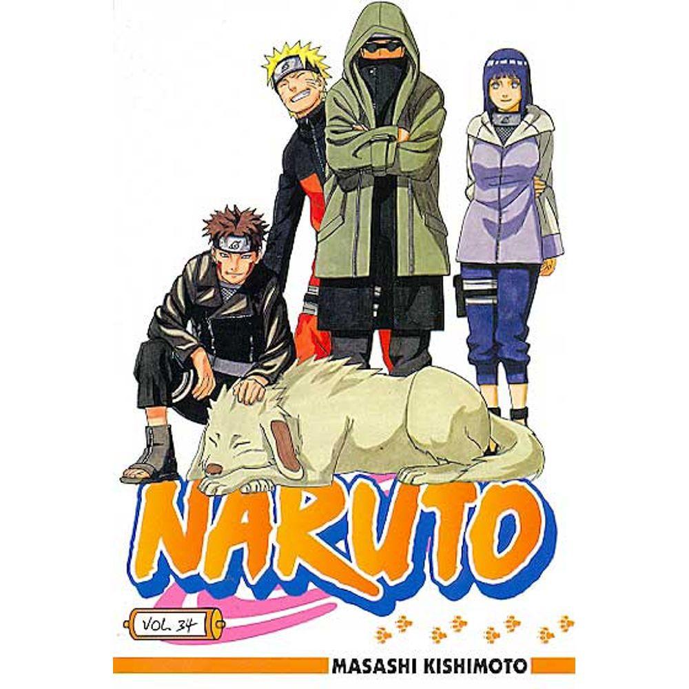 Naruto - Volume 34 - Usado