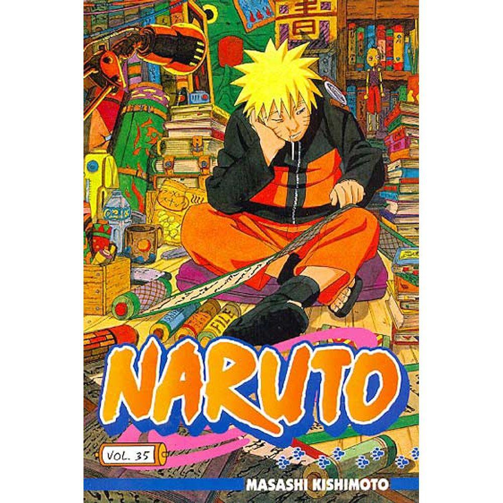 Naruto - Volume 35 - Usado