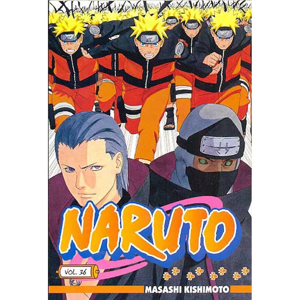 Naruto - Volume 36 - Usado