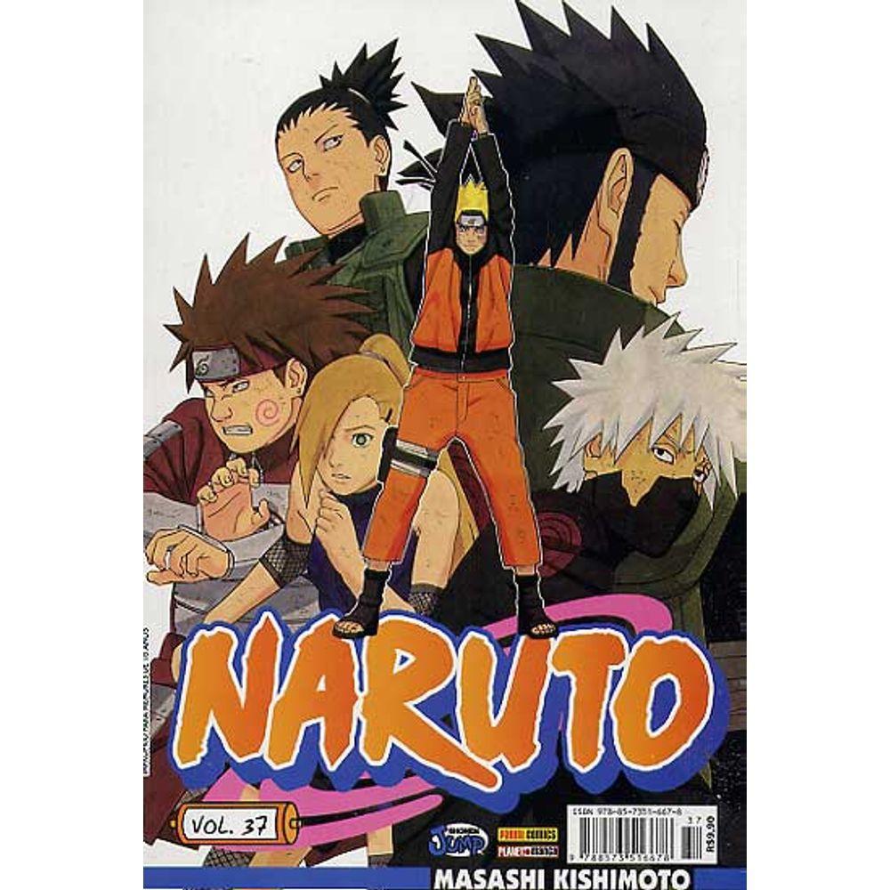 Naruto - Volume 37 - Usado