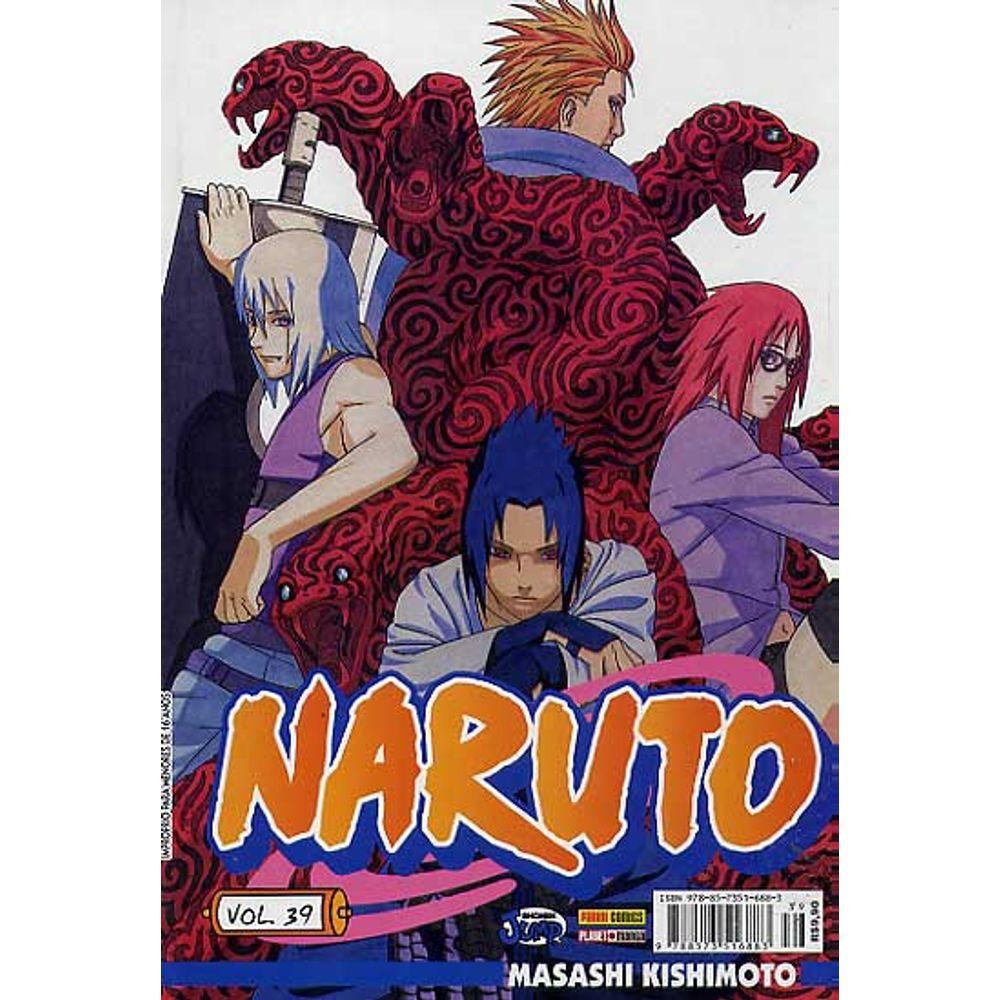 Naruto - Volume 39 - Usado
