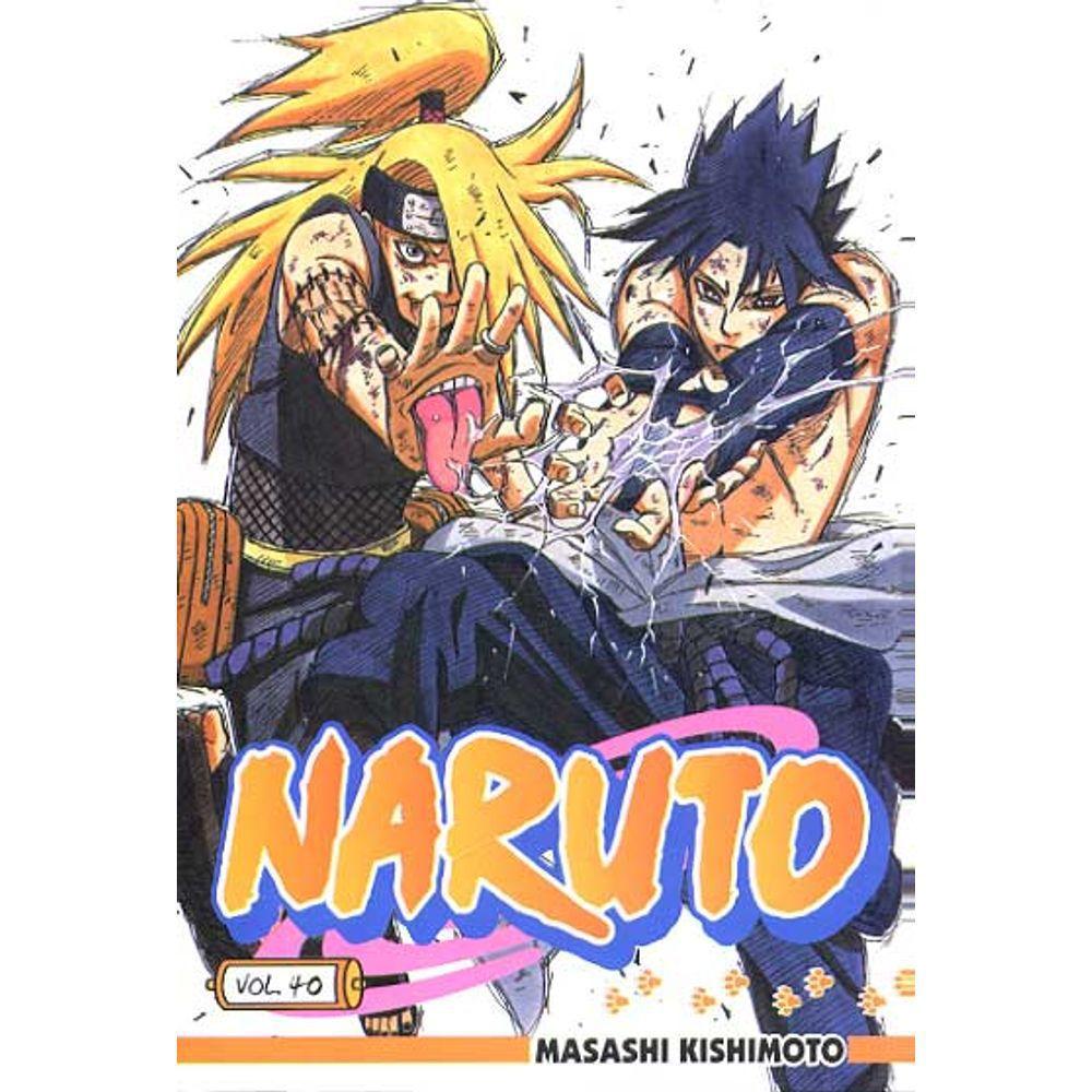 Naruto - Volume 40 - Usado