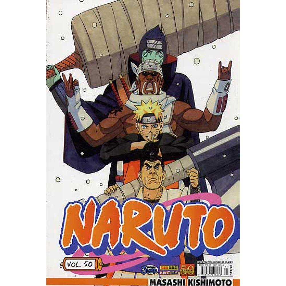 Naruto - Volume 50 - Usado