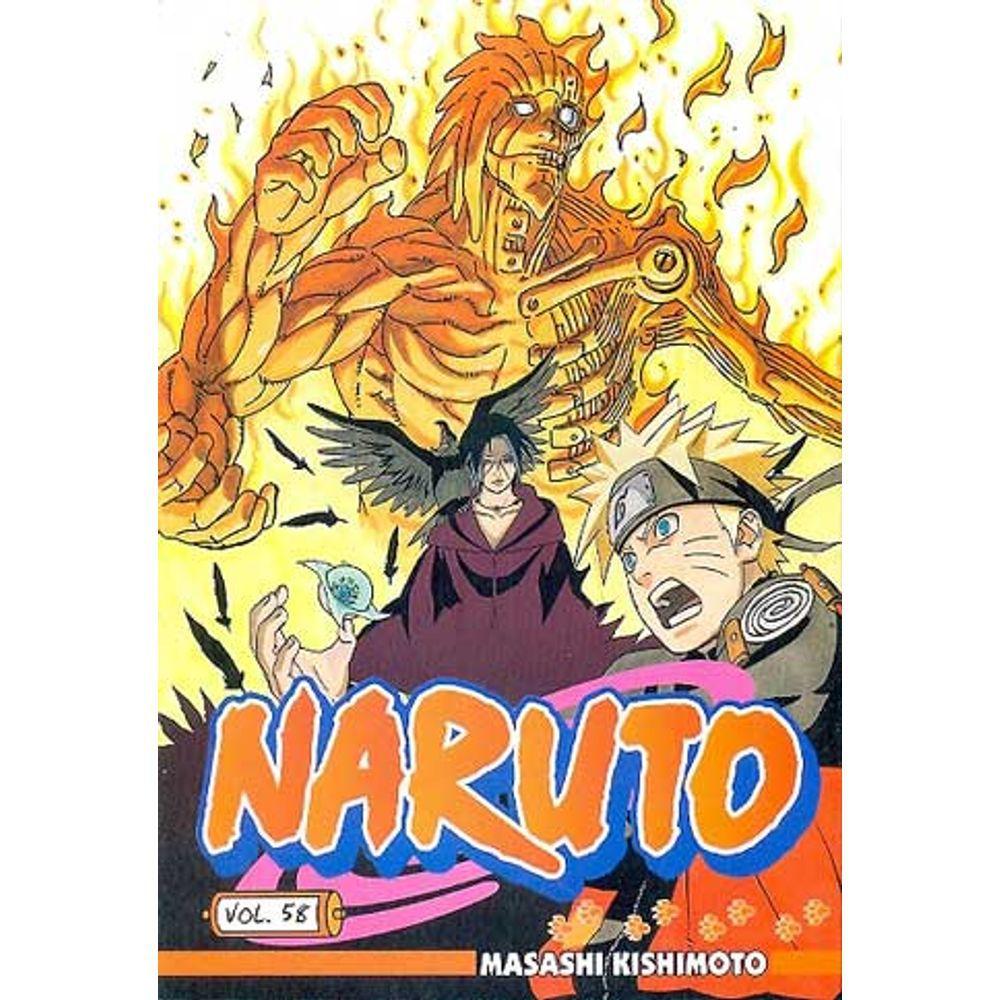 Naruto - Volume 58 - Usado