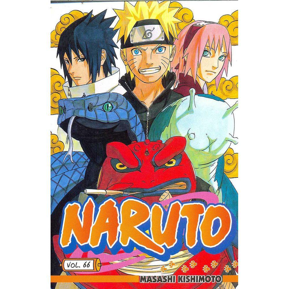 Naruto - Volume 66 - Usado