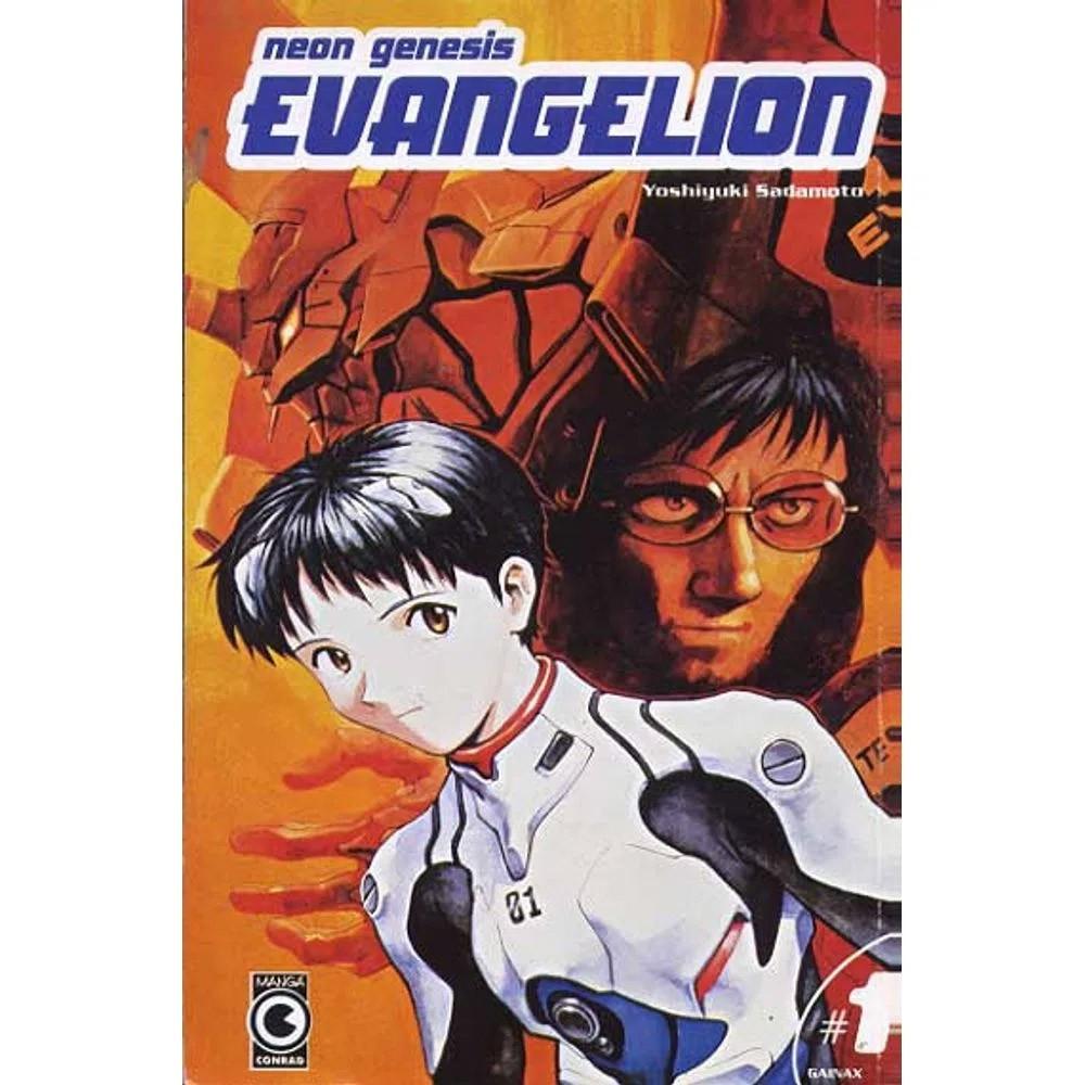 Neon Genesis Evangelion - 1ª Edição - Volume 01 - Usado