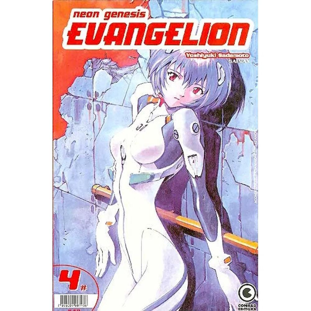 Neon Genesis Evangelion - 1ª Edição - Volume 04 - Usado