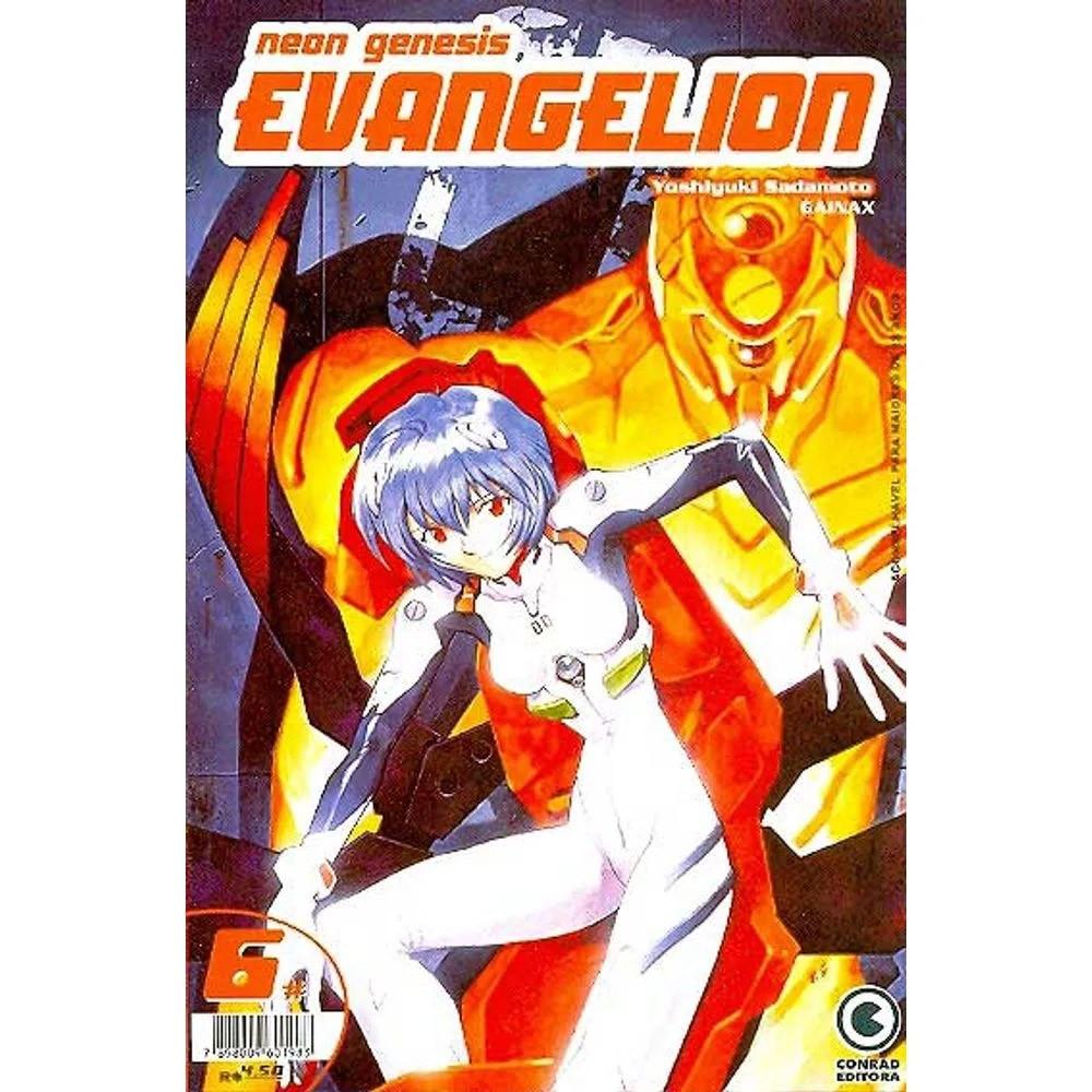 Neon Genesis Evangelion - 1ª Edição - Volume 06 - Usado