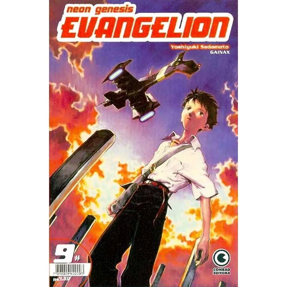 Neon Genesis Evangelion - 1ª Edição - Volume 09 - Usado