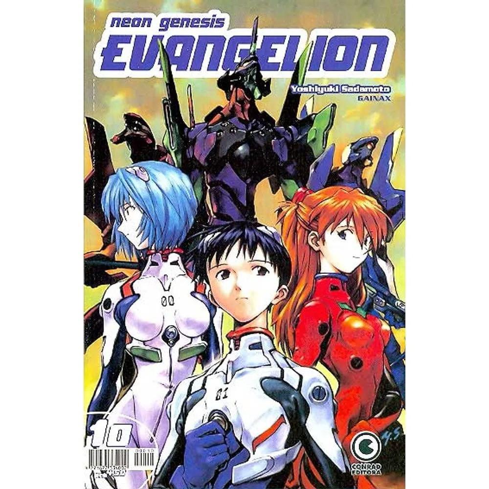 Neon Genesis Evangelion - 1ª Edição - Volume 10 - Usado