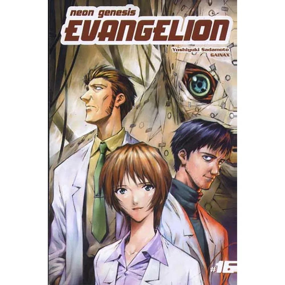 Neon Genesis Evangelion - 1ª Edição - Volume 16 - Usado