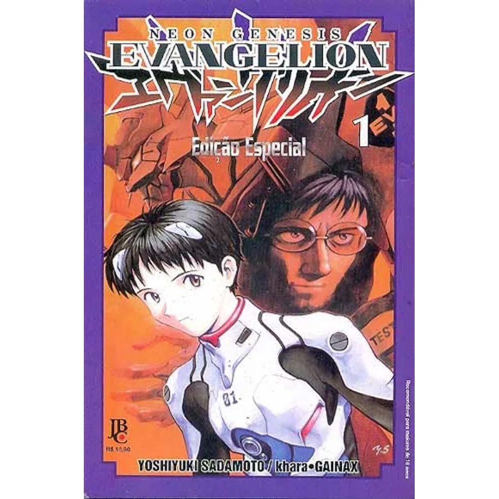 Neon Genesis Evangelion Edição Especial - Volume 01 - Usado