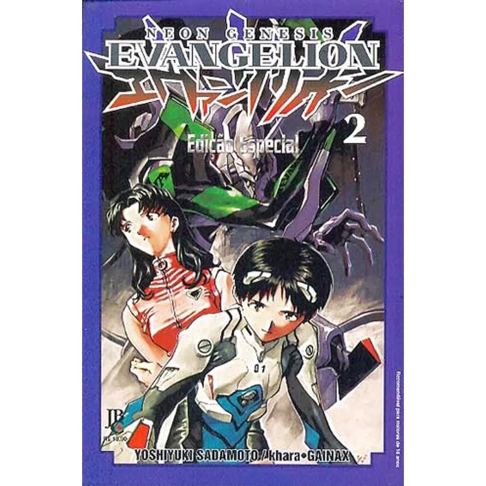 Neon Genesis Evangelion Edição Especial - Volume 02 - Usado