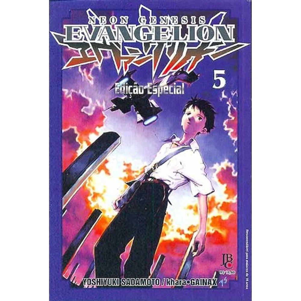 Neon Genesis Evangelion Edição Especial - Volume 05 - Usado