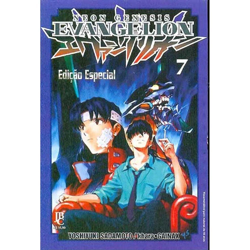 Neon Genesis Evangelion Edição Especial - Volume 07 - Usado