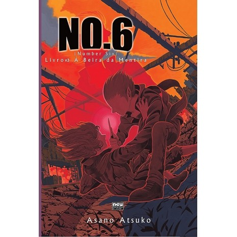 NO.6 - À Beira da Mentira - Volume 03 - Novel - Usado