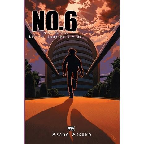 NO.6 - Fuga Pela Vida - Volume 01 - Novel - Usado