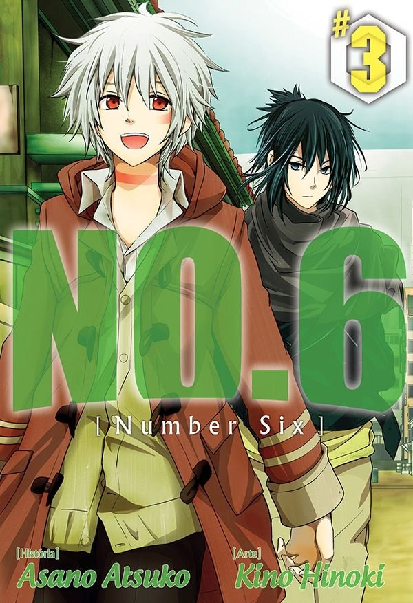 NO.6 / Number Six - Volume 03 - Usado