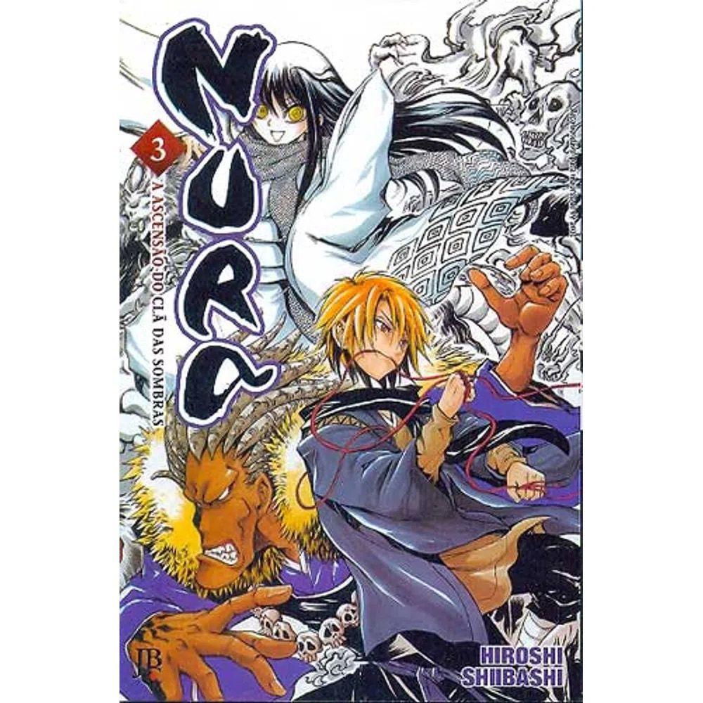 Nura - A Ascensão do Clã das Sombras - Volume 03 - Usado