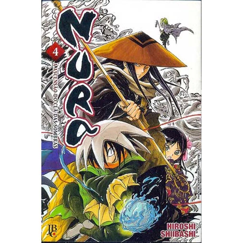 Nura - A Ascensão do Clã das Sombras - Volume 04 - Usado