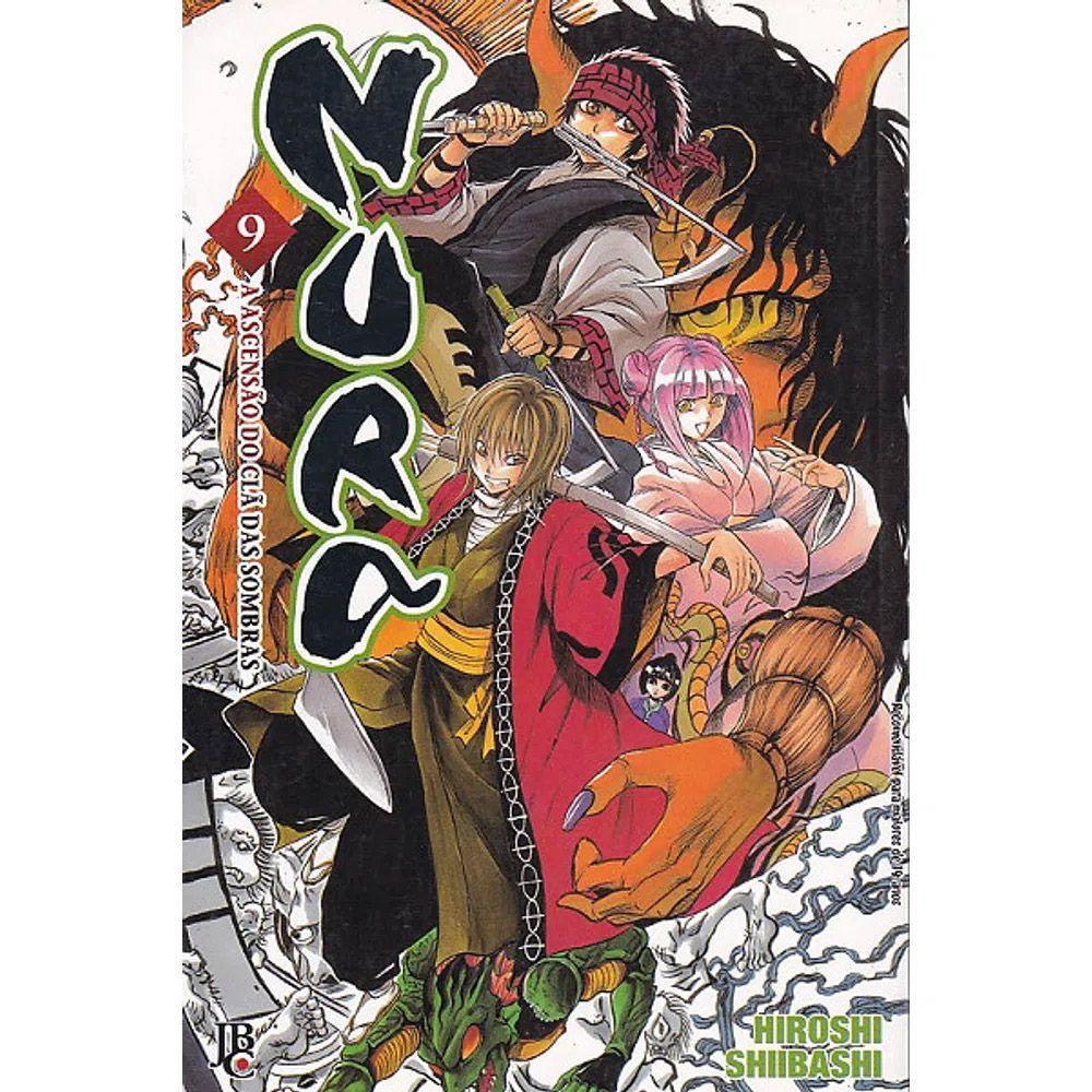 Nura - A Ascensão do Clã das Sombras - Volume 09 - Usado