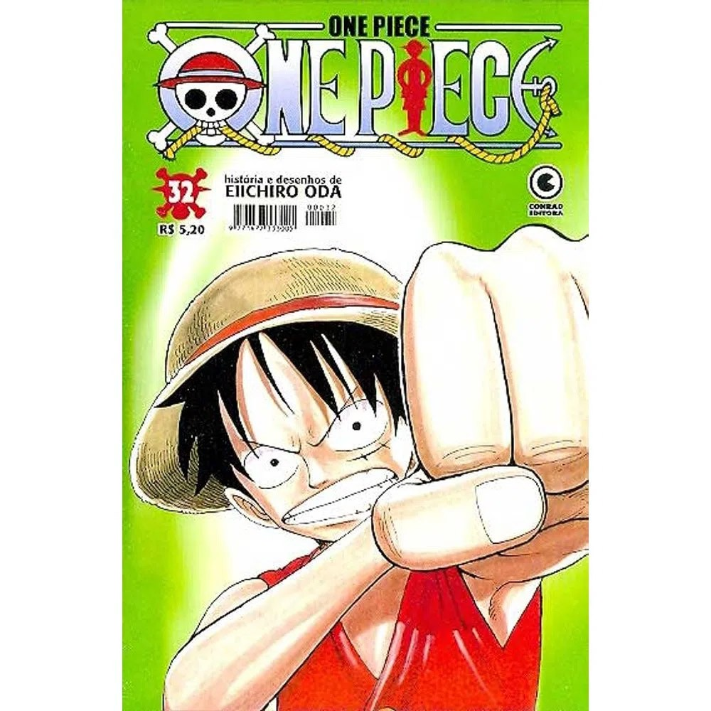 One Piece - 1ª Edição - Volume 32 - Usado