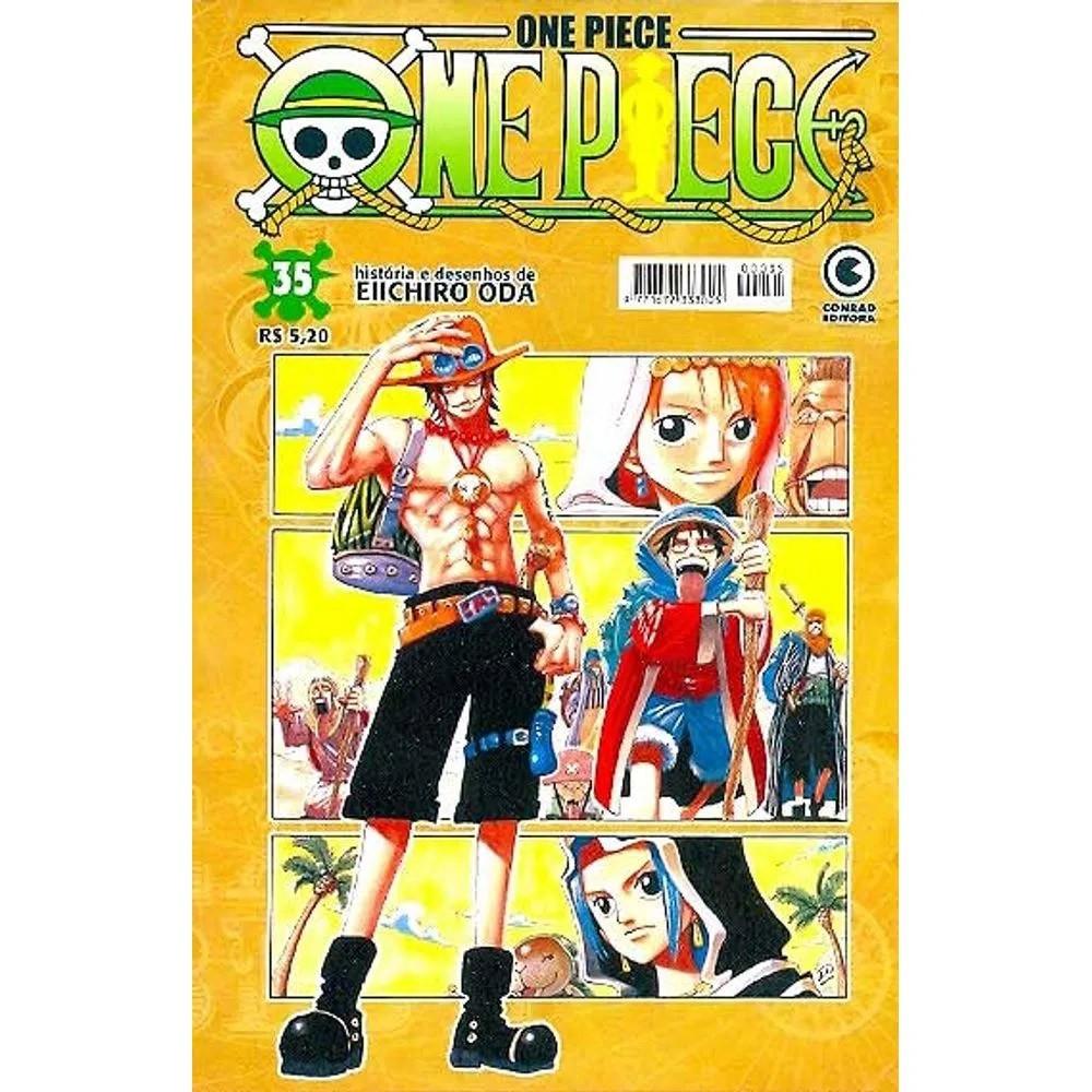 One Piece - 1ª Edição - Volume 35 - Usado