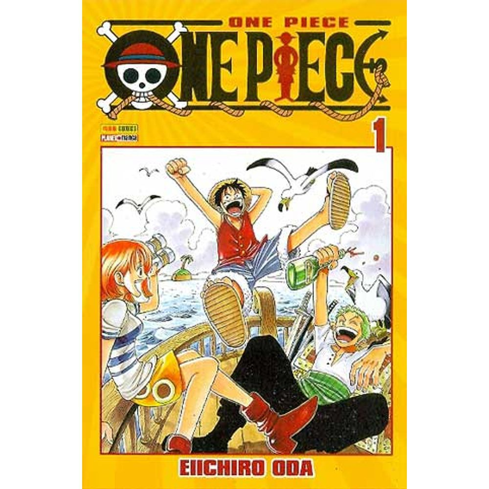 One Piece - Volume 01 - Usado