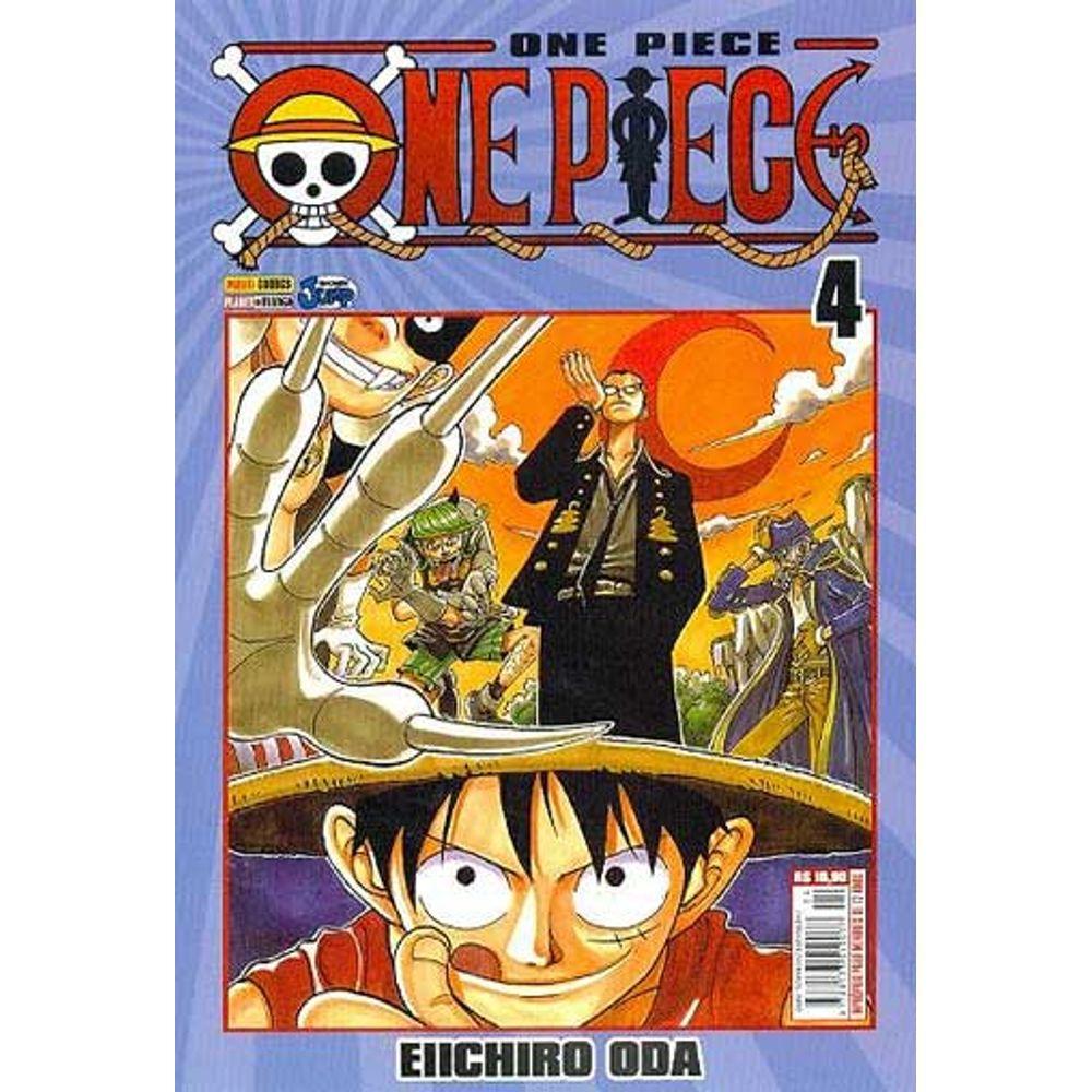 One Piece - Volume 04 - Usado