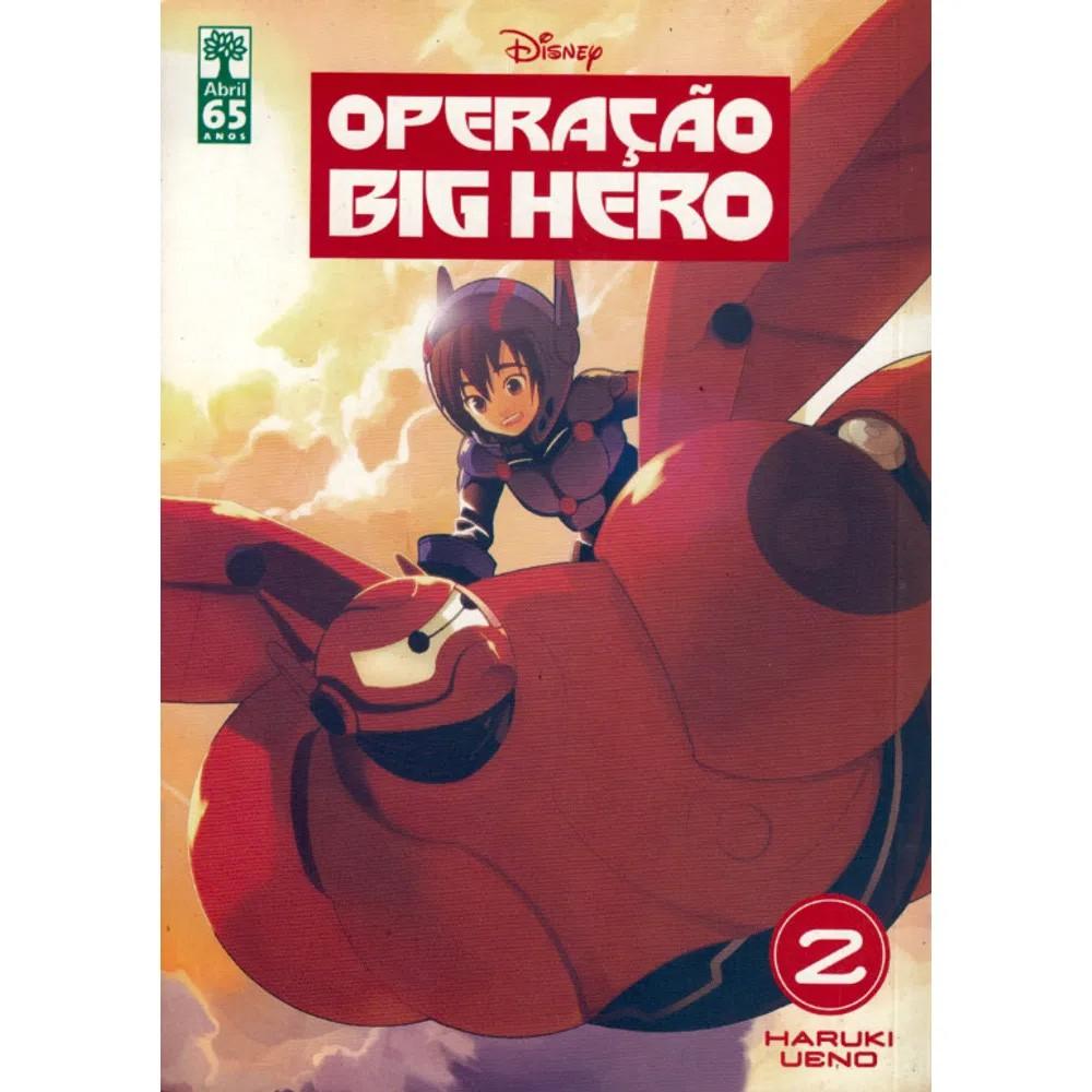 Operação Big Hero - Volume 02 - Usado