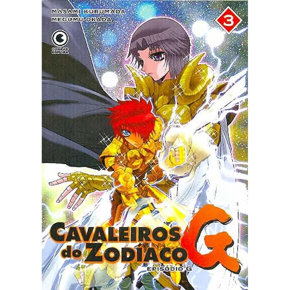 Os Cavaleiros do Zodíaco - Episódio G - Volume 03 - Usado
