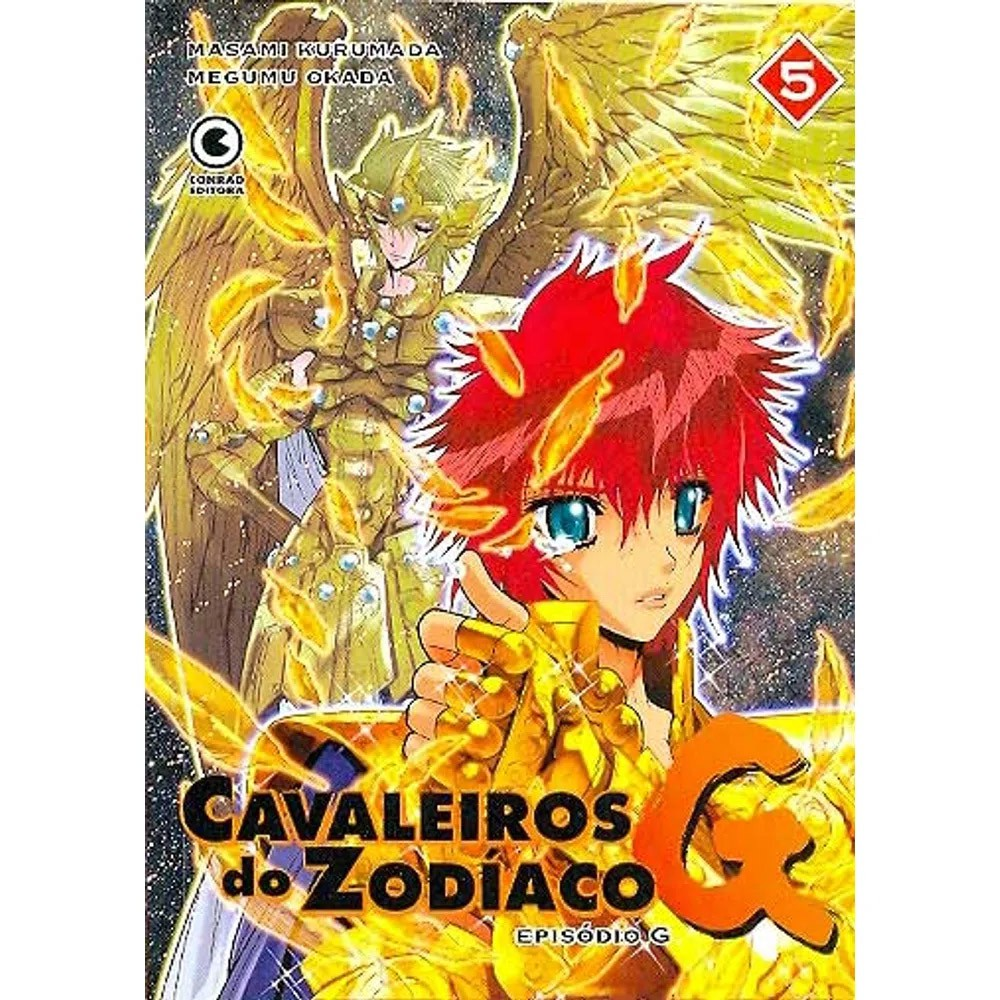 Os Cavaleiros do Zodíaco - Episódio G - Volume 05 - Usado